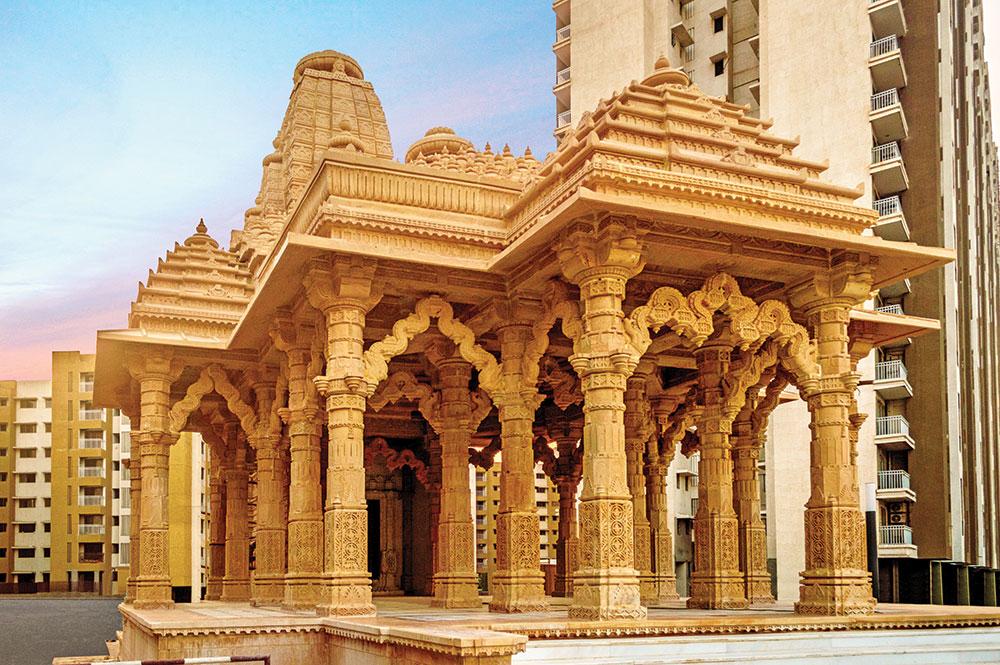 Temples at Palava