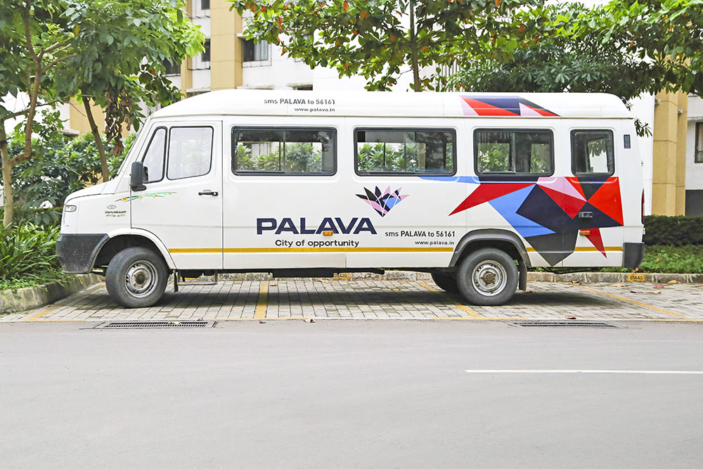 City Transport at Palava