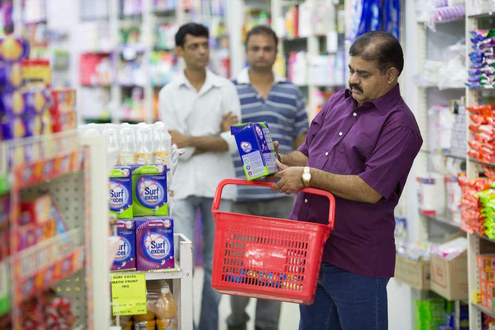Supermarkets at Palava
