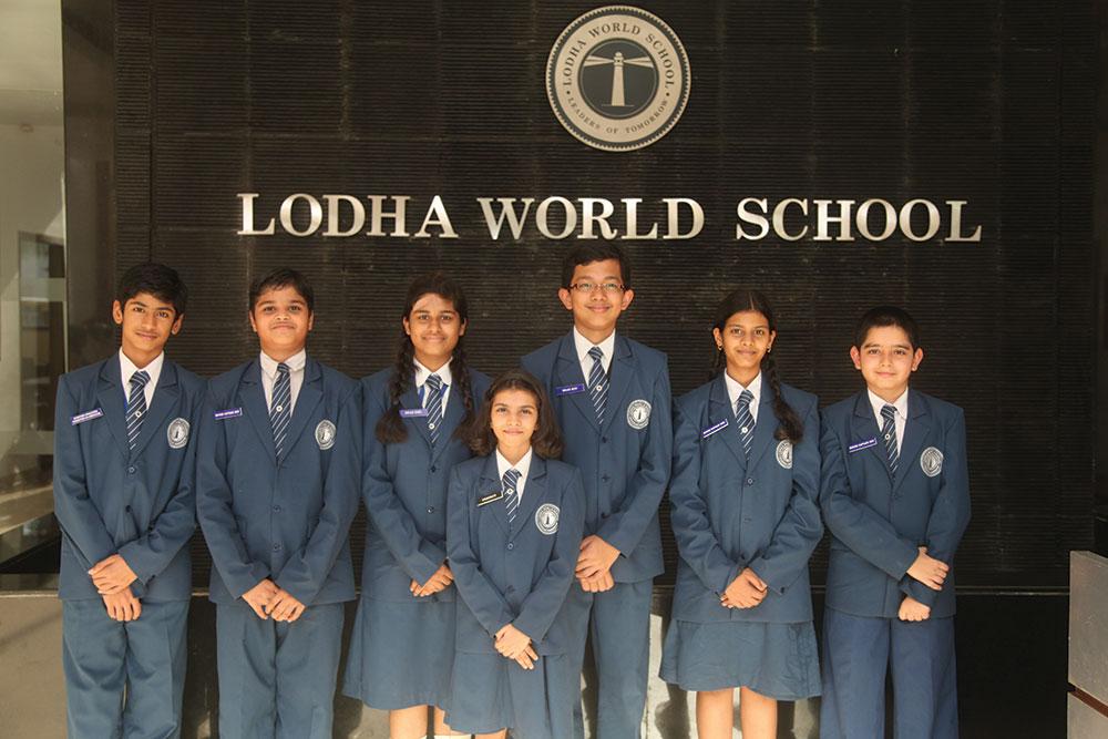 Students of Lodha World School