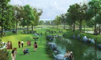 open green space